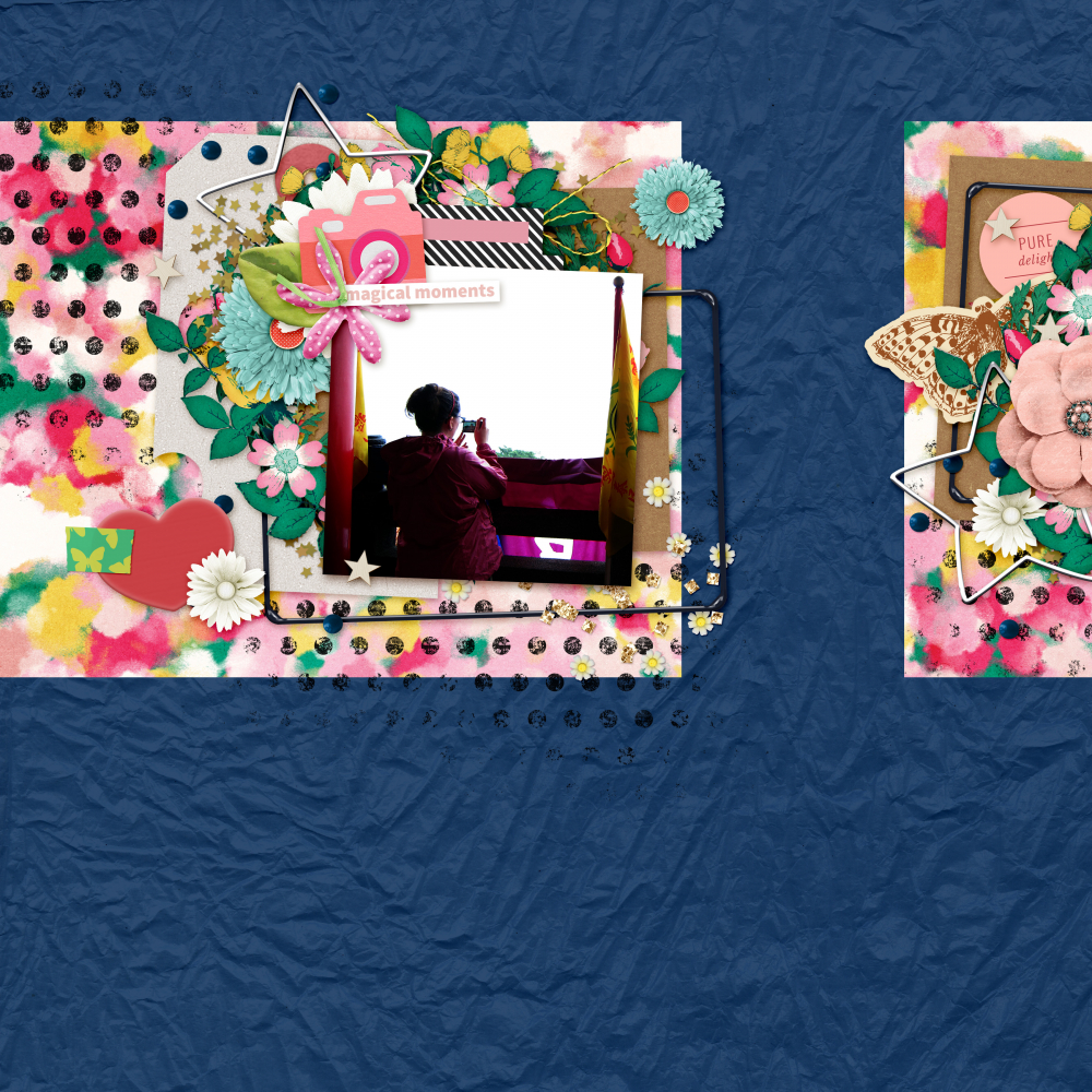 how to consistently create a great digital scrapbooking layout