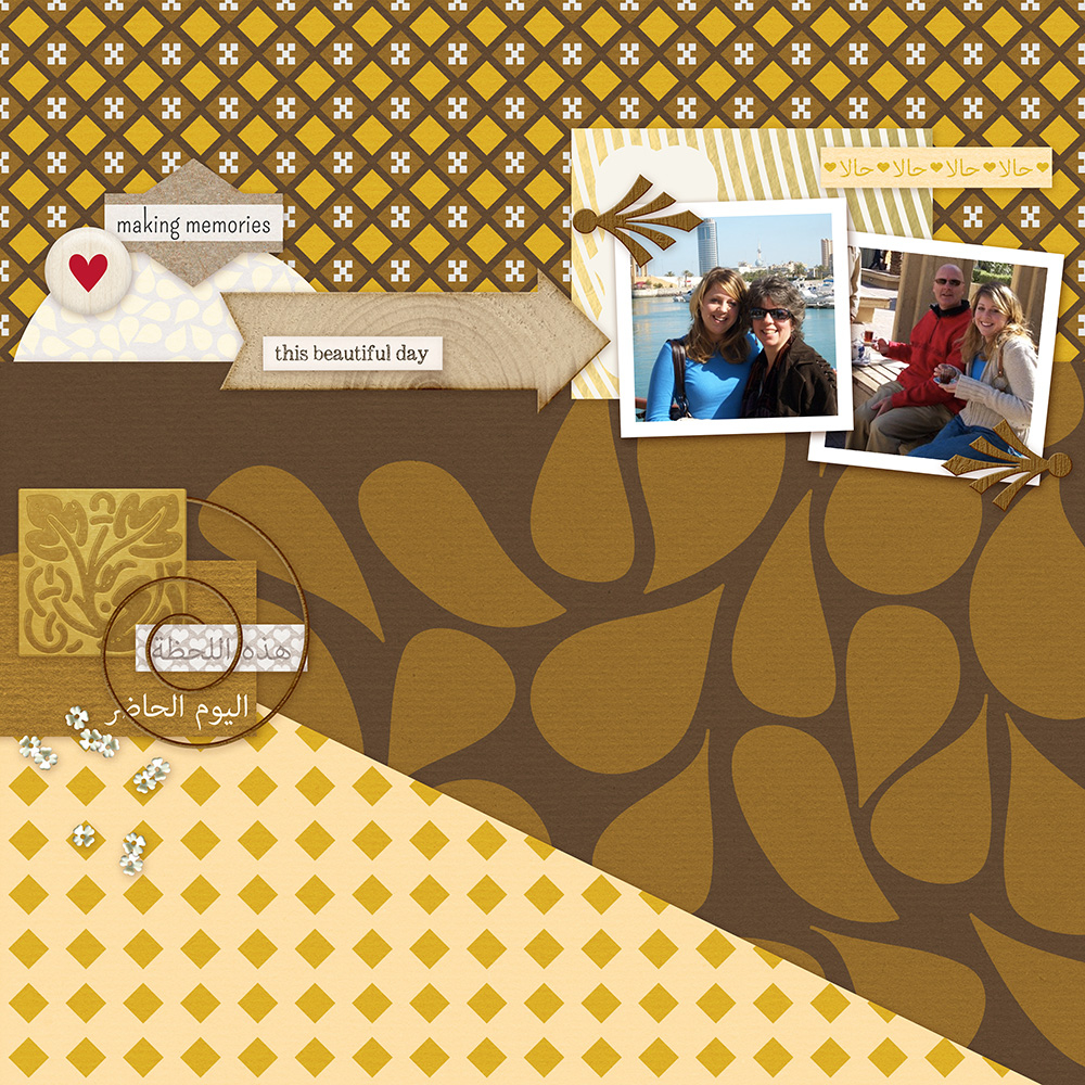 Layout by Marisa