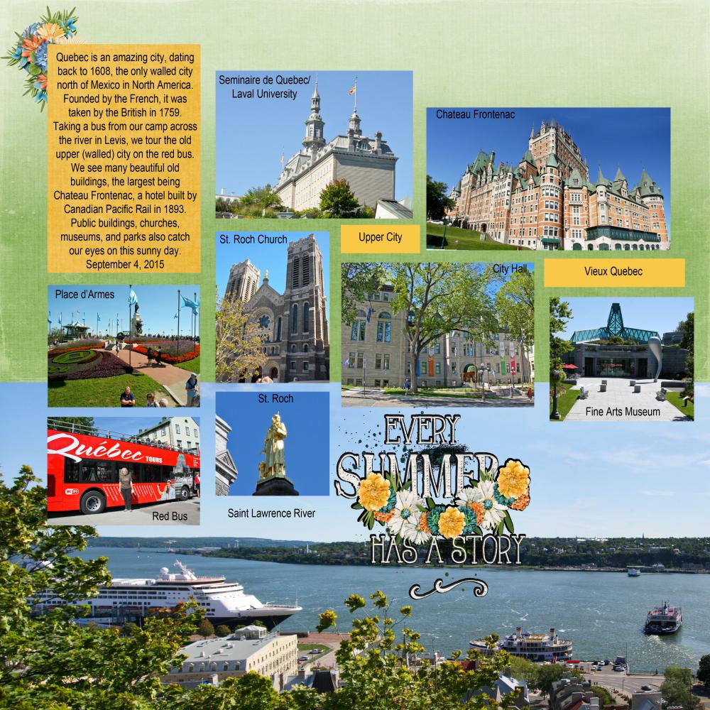Quebec2 Left By Sharon Adkisson Pixel Scrapper Digital