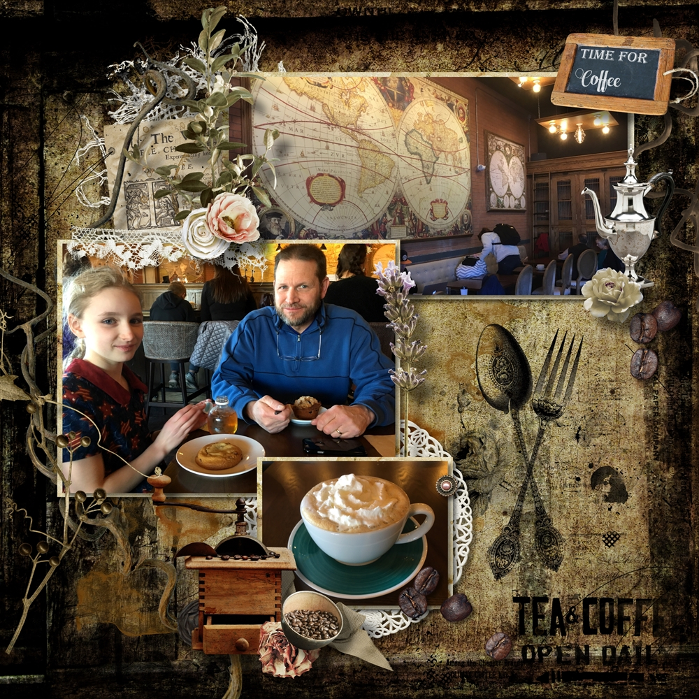 Wayfarer Coffee Shop By Rebecca Galla Pixel Scrapper Digital Scrapbooking