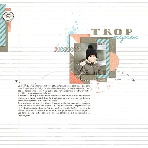 Trop Mignon By Sandrine Mz Pixel Scrapper Digital Scrapbooking