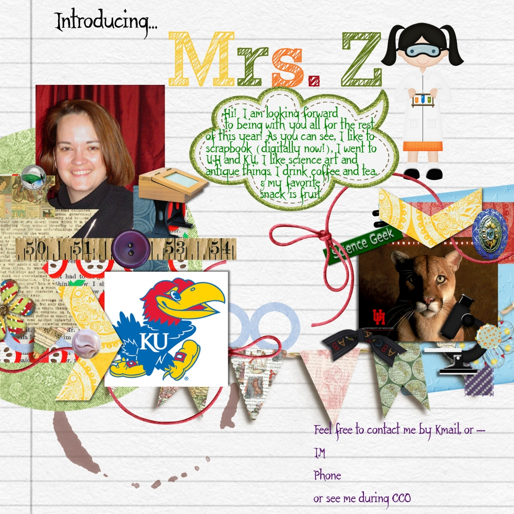 My Online Teacher Intro By Lisa Zimmerman Pixel Scrapper Digital