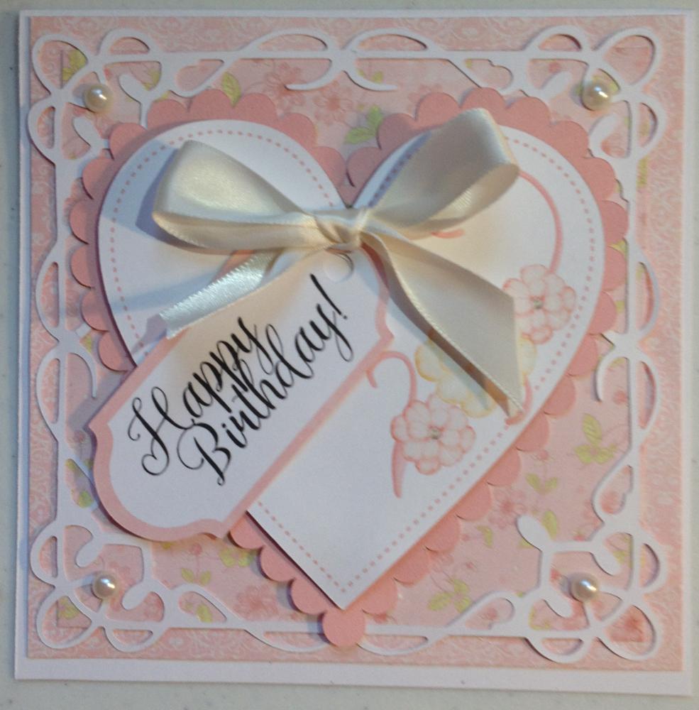 Fancy Girl Birthday Card