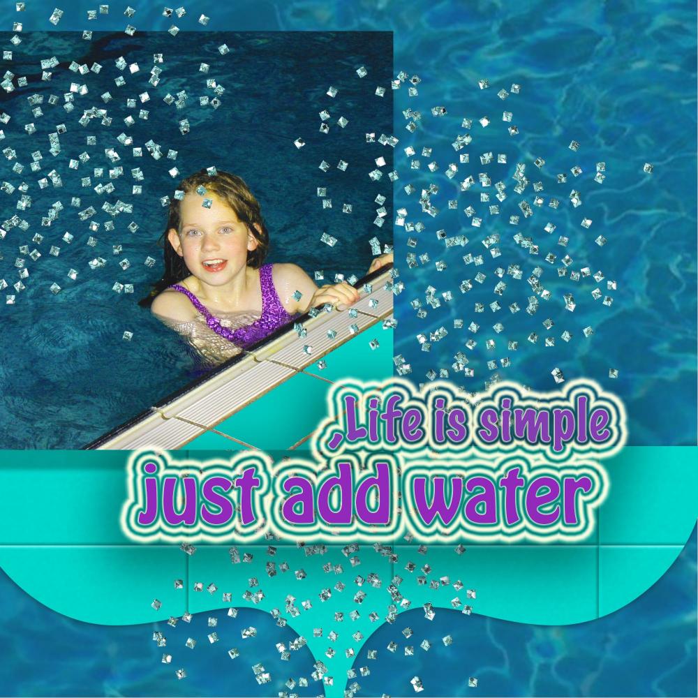 Just Add Water By Trudette De Jongh
