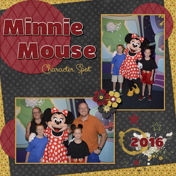 2016 Aj Minnie Mouse By Diane St Pixel Scrapper Digital Scrapbooking