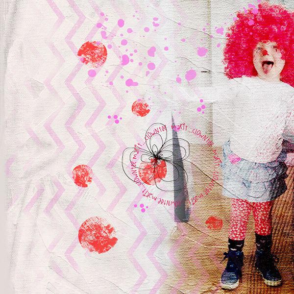 Little Clown Marit By Ali Bakker Pixel Scrapper Digital