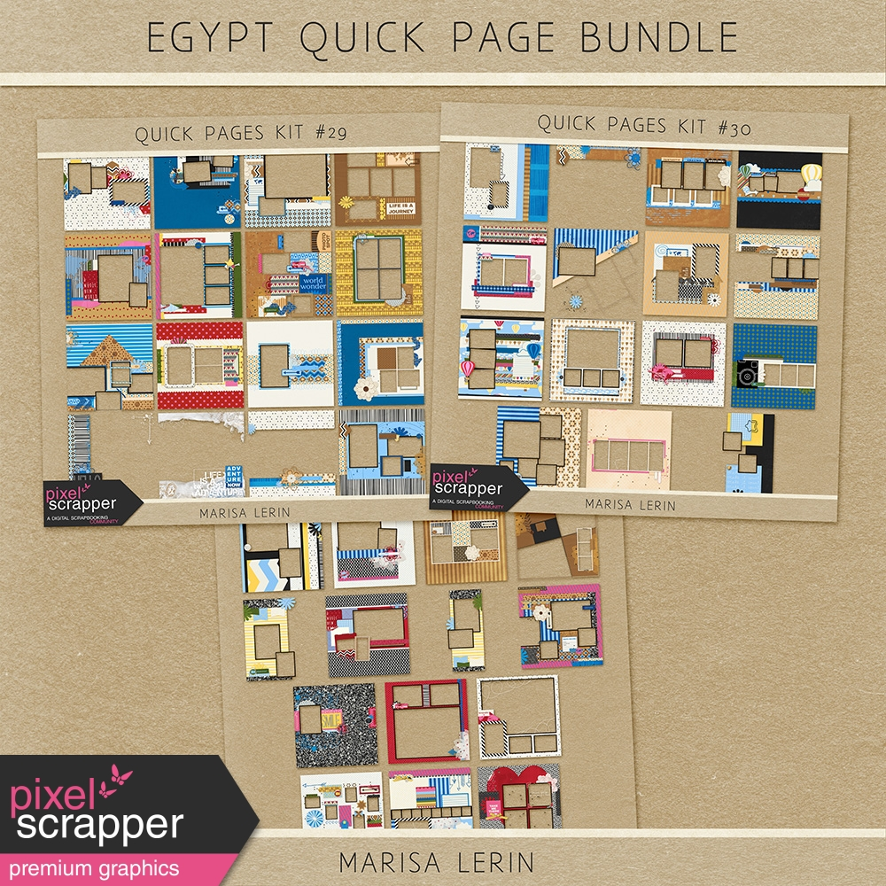 travel quick pages kit