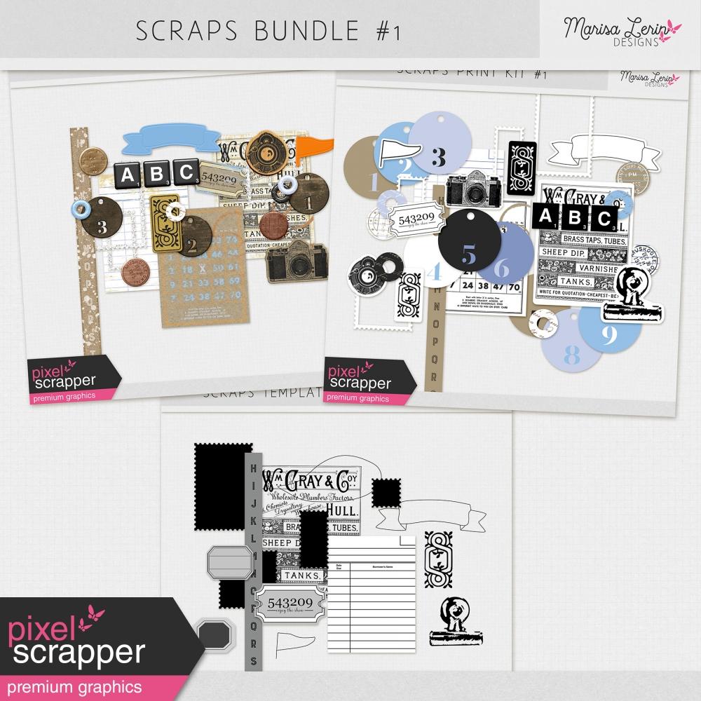 Scraps Bundle #1
