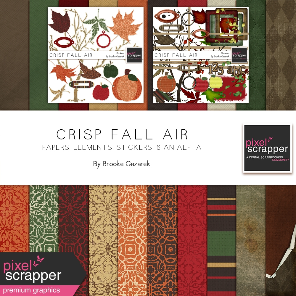 37+ Crisp Autumn Digital Papers DXF