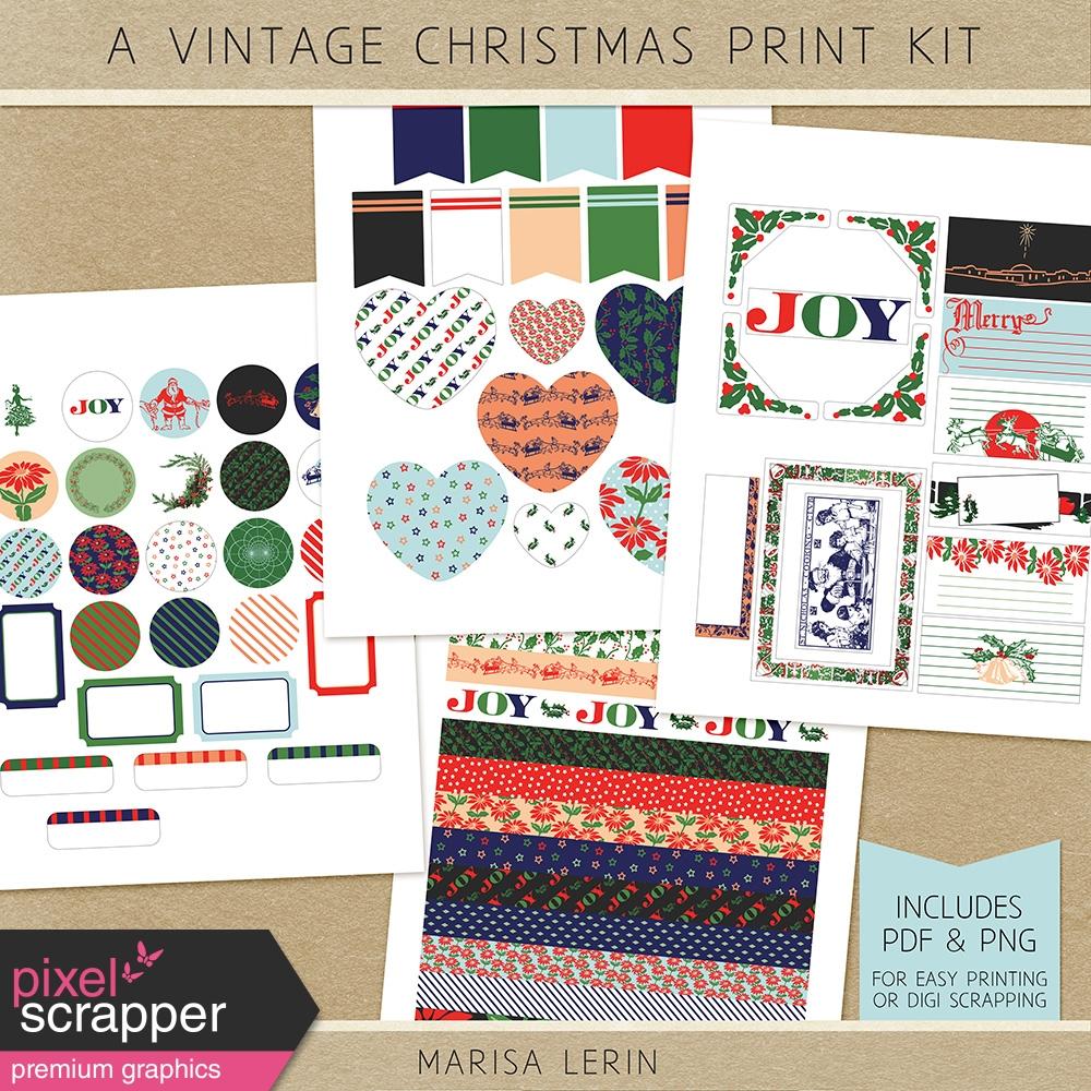 Consider, vintage christmas print something is