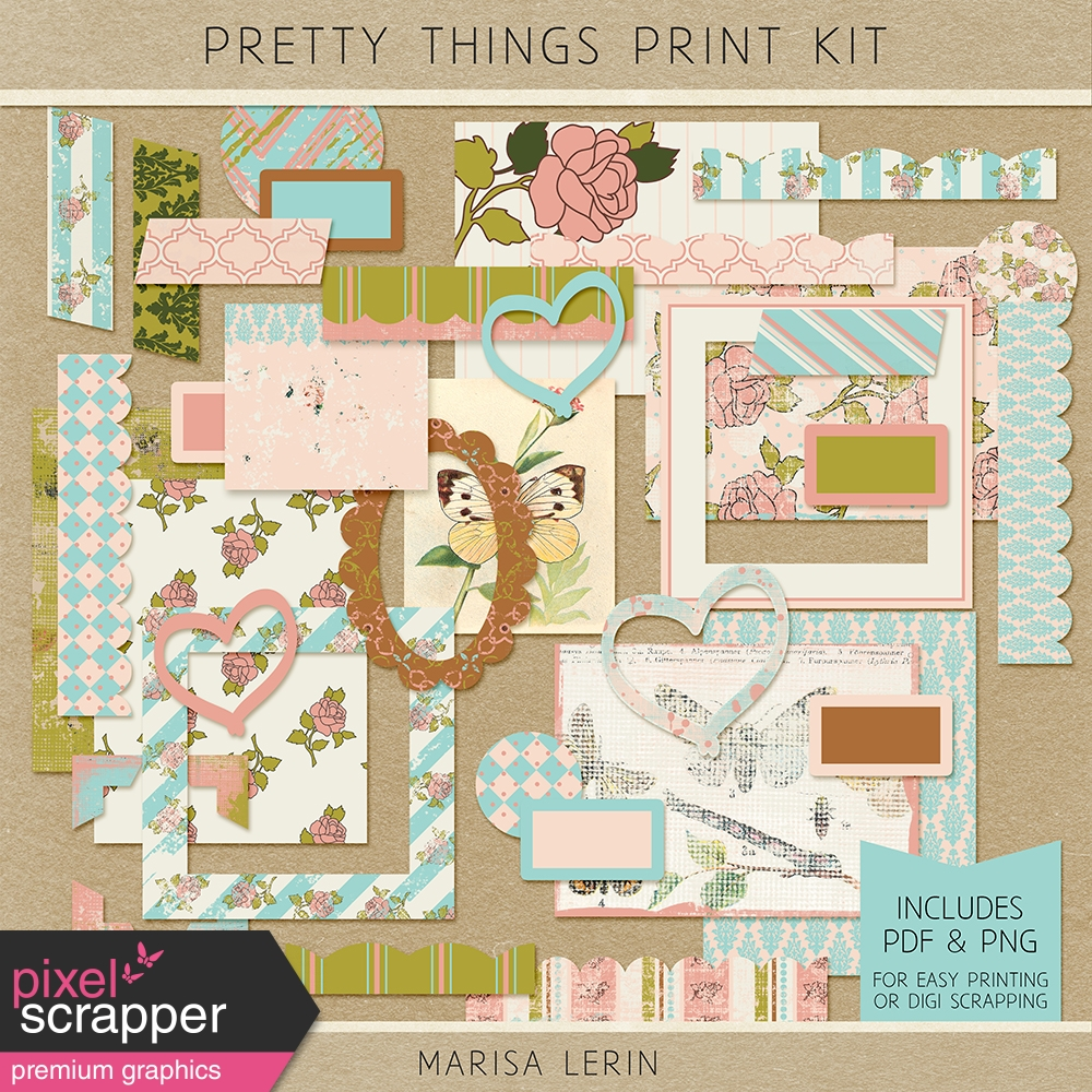 Pretty Things Print Kit
