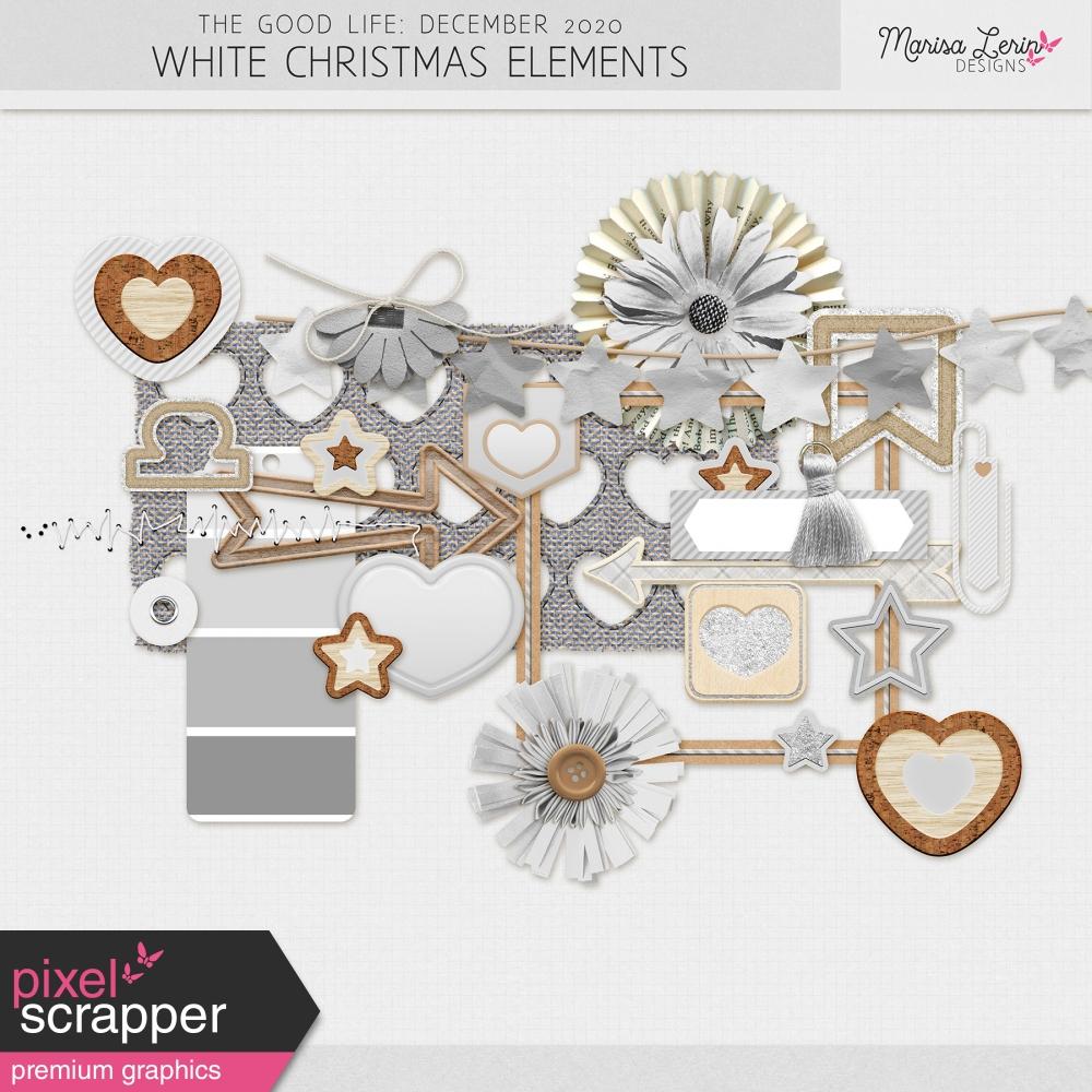 digital scrapbooking christmas freebie kit
