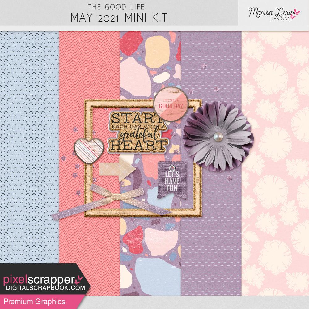 digital scrapbooking mini kit freebie
