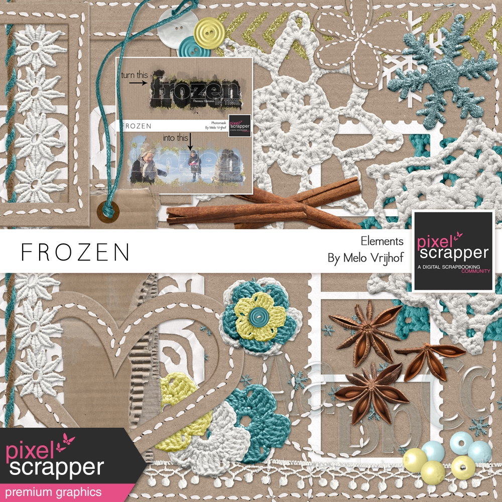 frozen elements kit by melo vrijhof graphics kit