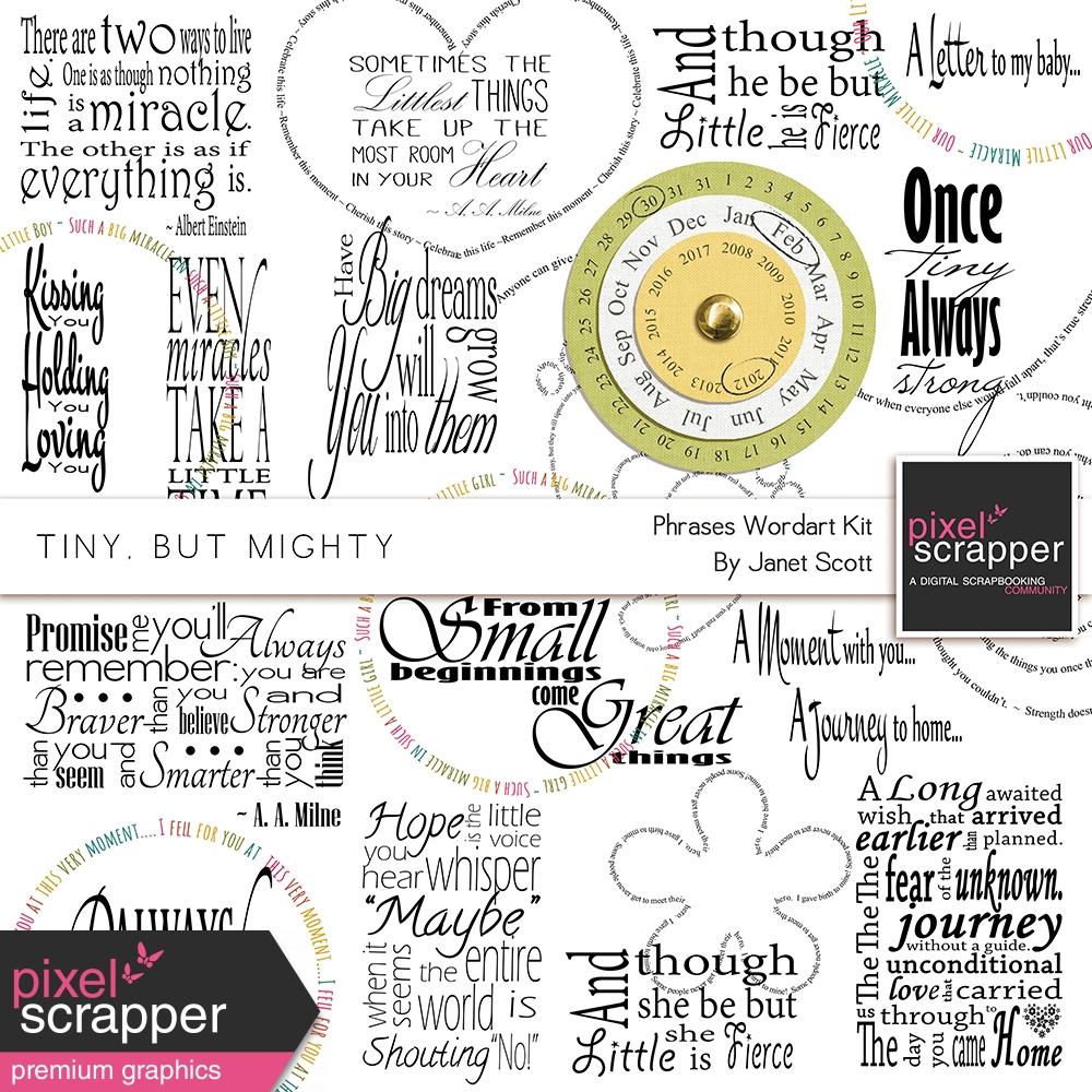 baby phrases for scrapbooking www