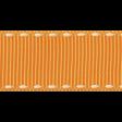 No Tricks, Just Treats - Orange Solid Ribbon