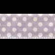 No Tricks, Just Treats - Purple Polka-Dot Ribbon