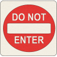 """Speed Zone Elements Kit - """"Do Not Enter"""" Sign"""