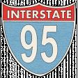 "Speed Zone Elements Kit - ""95 Interstate"" Sign"