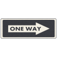 Speed Zone - One Way Sign