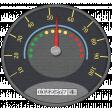 Speed Zone Elements Kit - Speedometer sticker