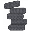 Speed Zone Elements Kit - Stack of Tyres