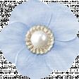 My Baptism - Light Blue Flower