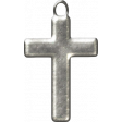 My Baptism - Silver Cross Charm