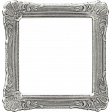 My Baptism - Silver Ornate Frame