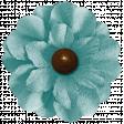 Turkey Time - Blue Flower