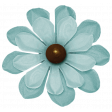Turkey Time - Blue Flower 02