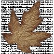 Turkey Time Elements Kit - Brown Wide Leaf
