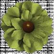 Turkey Time - Green Flower 02
