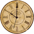 Vintage - November Blogtrain Clock Face