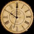 Vintage - November Blogtrain Clock Face