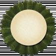 Thankful - Dark Green Accordian Tag