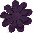 Thankful - Dark Purple Flower