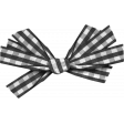 Thankful - Black Gingham Ribbon