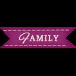 Thankful - Family Tag
