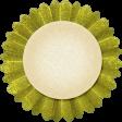 Thankful - Green Accordian Tag