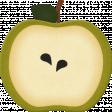Thankful - Green Apple Slice