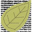 Thankful - Green Polka Dot Leaf