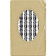 Vintage - November Blogtrain Paper Matte Frame