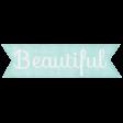 Simple Pleasures - Beautiful Tag