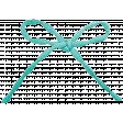 Simple Pleasures - Bluegreen Bow