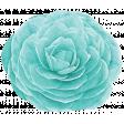 Simple Pleasures - Bluegreen Rose