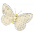 Simple Pleasures - Butterfly With Gems