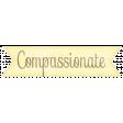 Simple Pleasures - Compassionate Tag