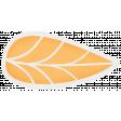 Simple Pleasures - Orange Leaf