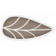 Simple Pleasures - Slate Brown Leaf #02